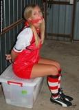 Sarah Jane: Football Star Not Playing This Match!