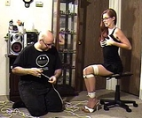 Stacie Snow in Corner Bondage I