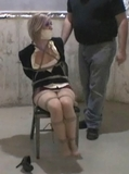 Jenni Trixter Chair Tied, Microfoam Tape Gag