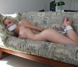 Naked Hogtie Struggle