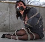 Christina Carter, Business Suit Bondage
