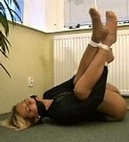 Pantyhose Struggle - Classic Video