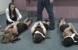 Tie Them All Up! Serene, Elizabeth, Crystal and Hannah
