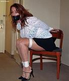 Rachel: Sexy Heels & Mini Skirt