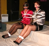 Lesbian's in Satin and Distress Part One