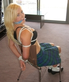 Danni Chair Tied & Cleave Gagged