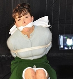 Mz Bee Reluctant Movie Star. 3:28 Minute Bondage Video: You'll do great. I have the perfect thing to relax you before going on stage. Cleave Gagged, Skirt, Sweater, Pearls