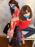 Red Rope Web & Blue Jeans!