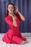 Pretty Lady in Handcuffs