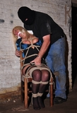 Crystal Frost Chair Tied and Fondled