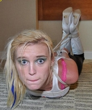 Hogtied Escape Attempt