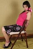 Vicki's Sexy Chair Tie Escape Challenge