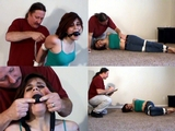 Gagged And Elbow Bound Therapy!