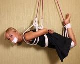 Foxy Hanging Around - Bondage Suspension