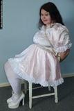 Big Beautiful Woman Chair Tied: Angel