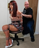 Pantera is Roped and Gagged On Screen!