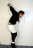 Paige Thigh High Strappado Struggle