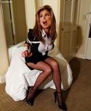 Sexy Struggling Secretary<br>TucsonTied.com<br>Bondage Photo Story