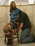 Chair Tied and Fondled