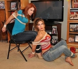 Chrissy & Blair, The Cable Guy Part One