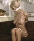 Kate Blonde, Naked, Stilettos & Baby Oil Struggle