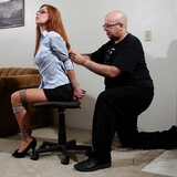Secretary Bondage With Stacie Snow Part 2