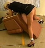 Kate Blonde Roped for Spanking