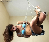 Suspended, Helpless - And Enjoying It (HD)