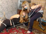 Newest Workout Craze! The team bondage workout from TwoTied.com