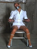 Nurse Zip Tied In The Basement