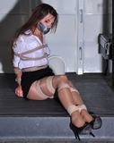 She accepted that ride to work in the ropexpert van. She was desperate! Sasha Fae