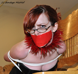 Lily Danger is the Dominated Domme. Bad lily Bent Over , Tied And Gagged Then I Had To Spank And Whip Her Into Submission