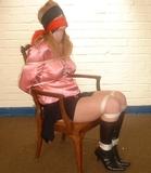 Fi Stevens - Satin Blouse, Blindfold