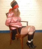 Fi Stevens - Satin Blouse, Blindfold