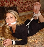 Hogtied Bedroom Struggle