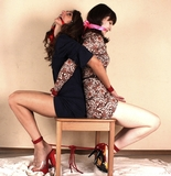 Ekaterina & Jessica, Back To Back Pleasure!