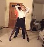Officer Captured, Gagged & Tied Up