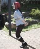 Neko Hopping Down The Street