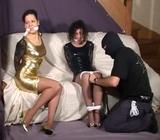 Misty Grease & Maryol: Legs Tied On Screen