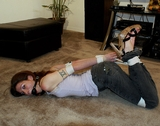 Housewife In Hogtied Hell!