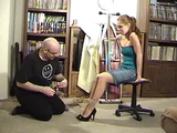 Behind The Scenes With Stacie Snow Part 1 - Ankles Tied