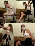 37 Minute Bondage Video - The Binding of Sasha Fae Full Length Video