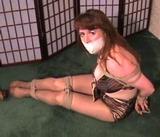 Classic Bathing Suit Bondage Struggle - 4 Minute Bondage Video