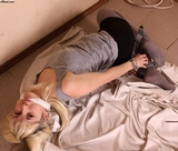 Handcuff Hogtie starring Frances