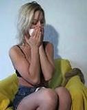 Kate Blonde Self Bondage
