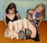 Roped Lets Two Lady Double Struggle