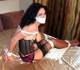 Big Breasted Lola Lynn Roped & Gagged