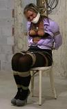Super Tight Chair Tie Struggle