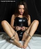 Leather and Cuffs Bondage Fun