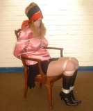 Fi Stevens - Satin Blouse Captive